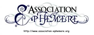 typos Ephémère blanc impression