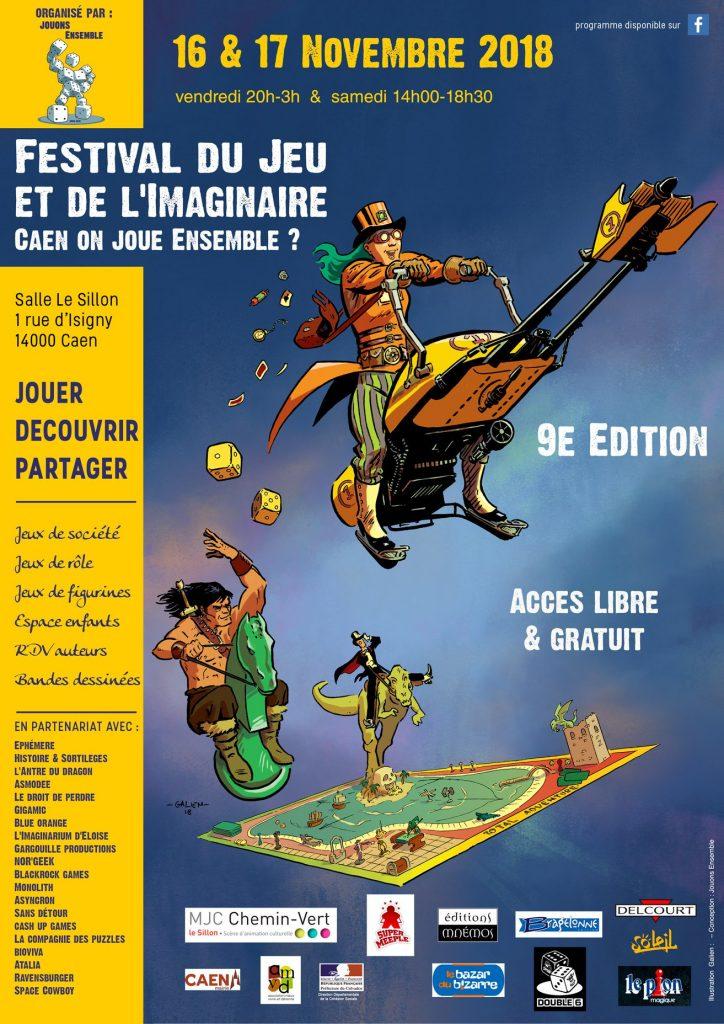 Festival du Jeu et de l'Imaginaire 2018
